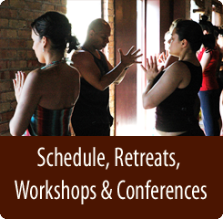 National Schedule, Retreats, Workshops, Conferences