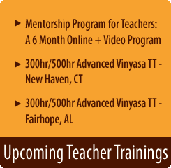 Teacher Trainings Open for registration